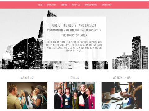 Houston Bloggers Website