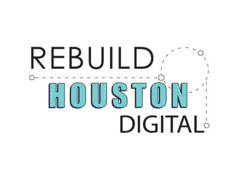 Rebuild Houston Digital Event Logo Design